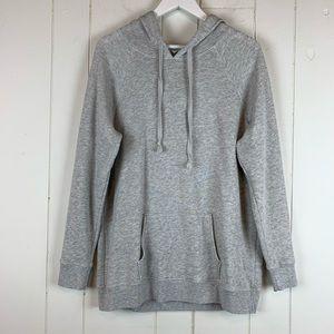 American Eagle Hoodie Sweatshirt Large Gray